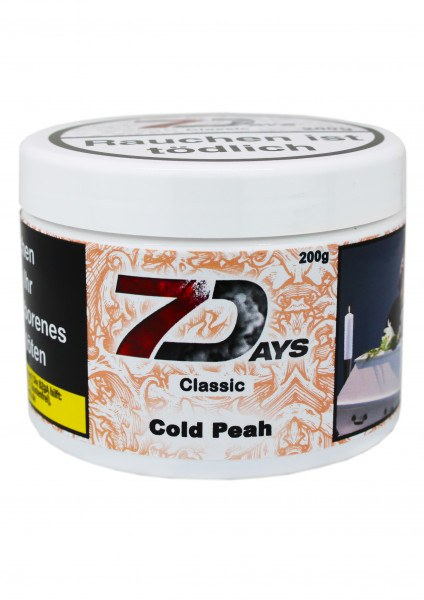 7 Days Tabak 200g - Cold Peah Classic