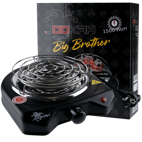 Jookah - Kohleanzünder 1500w mit Schutzgitter Big Brother