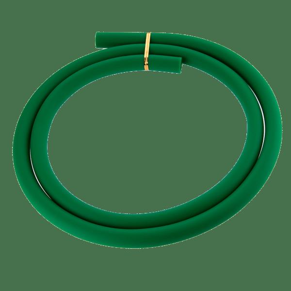 Jookah - Silikonschlauch Grün Matt