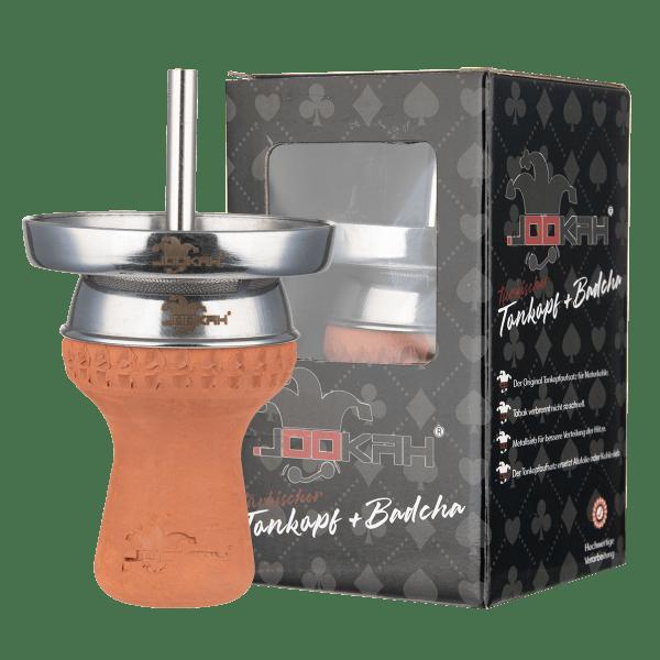 Jookah - Tonkopfset Handgemacht inkl. Kaminaufsatz