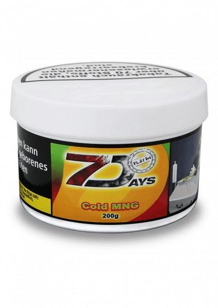 7 Days Tabak Platin 200g - Cold MNG