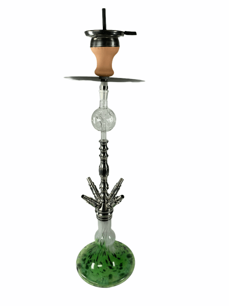 Papa Haram Shisha Modell04 - Green / Black / White