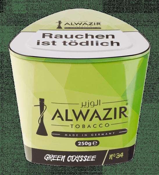 ALWAZIR 250g - No. 34 Green Odyssee