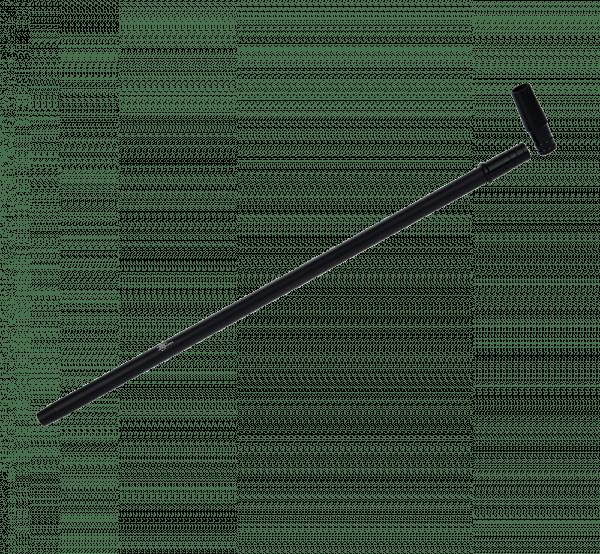 Jookah - Alu Mundstück ALK003 Slimy Fine 40cm inkl. Endstück Black