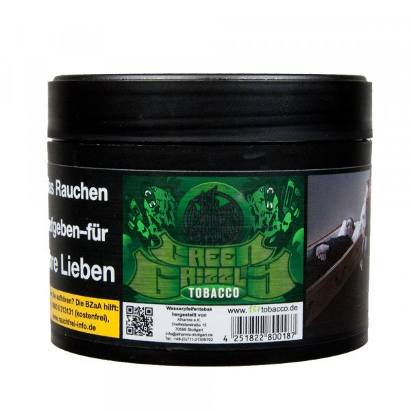 187 Tobacco 200g - #008 Green Grizzly