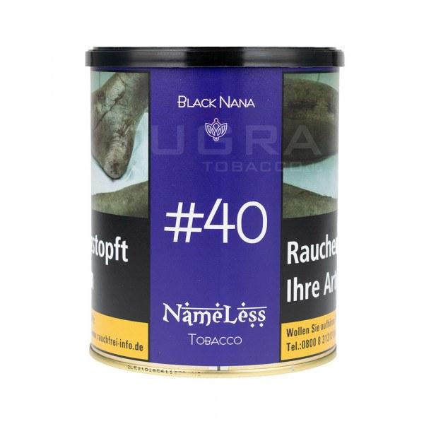 NameLess Tobacco 1kg - #40 Black Nana