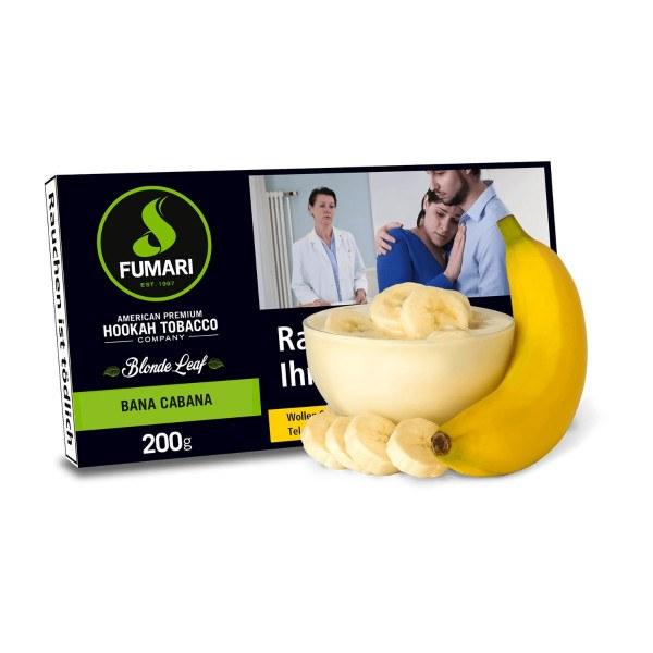 Fumari Tobacco 200g - Bana Cabana / Banana Custard