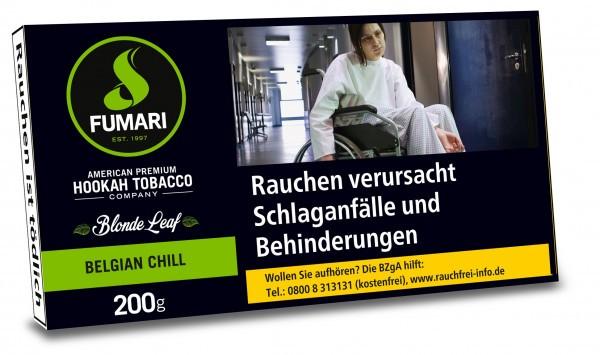 Fumari Tobacco 200g - Belgian Chill (Mint Chocolate Chill)