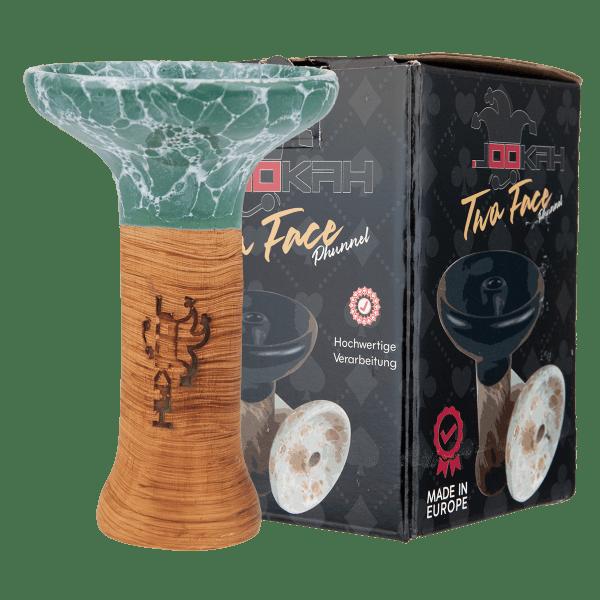 Jookah Twa Face Phunnel M - Turquoise
