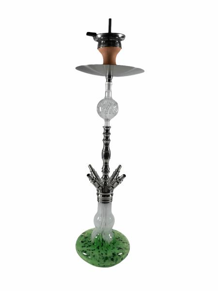 Papa Haram Shisha Modell05 - Green / White / Black