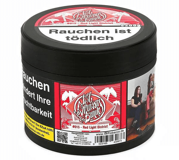 187 Tobacco 200g - #015 Red Light District