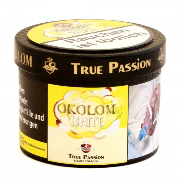 True Passion 200g - Okolom White