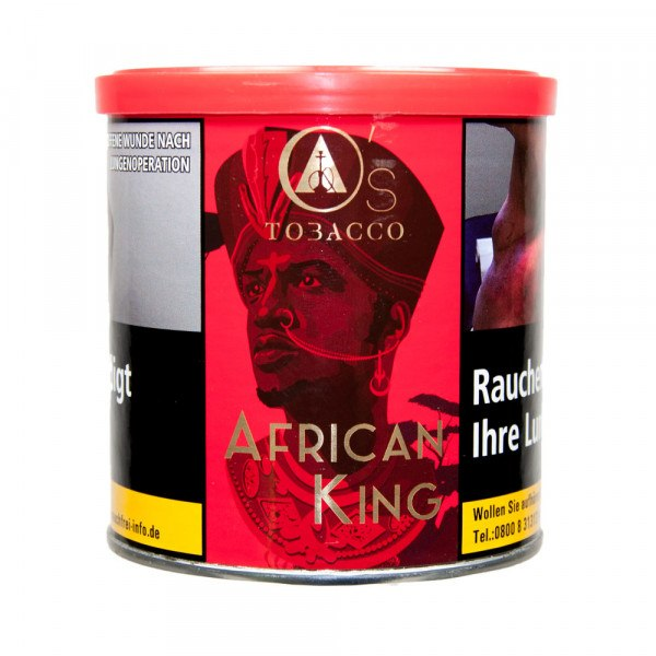 O`s Tobacco Red 200g - African King