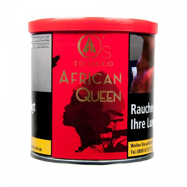 O`s Tobacco Red 200g - African Queen