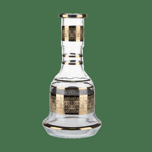 Jookah Tradi Ersatzglas Groß - 530-07 Gold/Clear