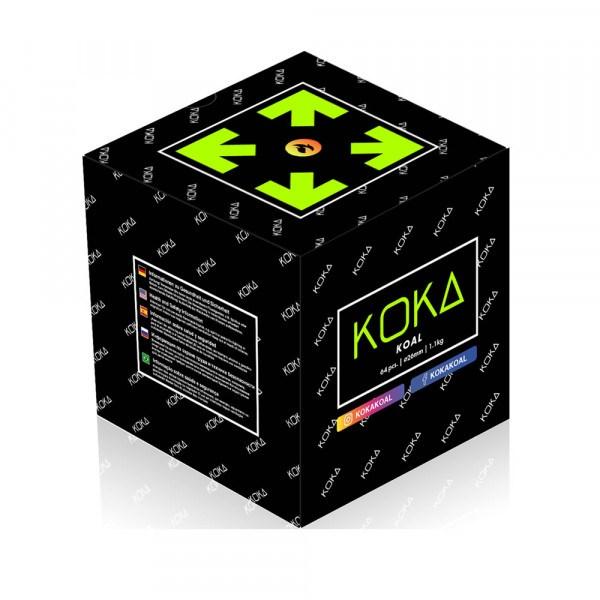 KOKA KOAL 1KG - 100% Pure Koka Shisha Kohle 26