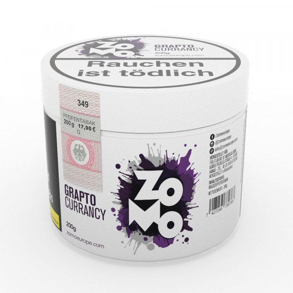 Zomo Tobacco 200g - Grapto Currancy