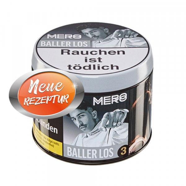 Mero Tobacco 200g - No.03 Baller los (Neue Rezeptur)