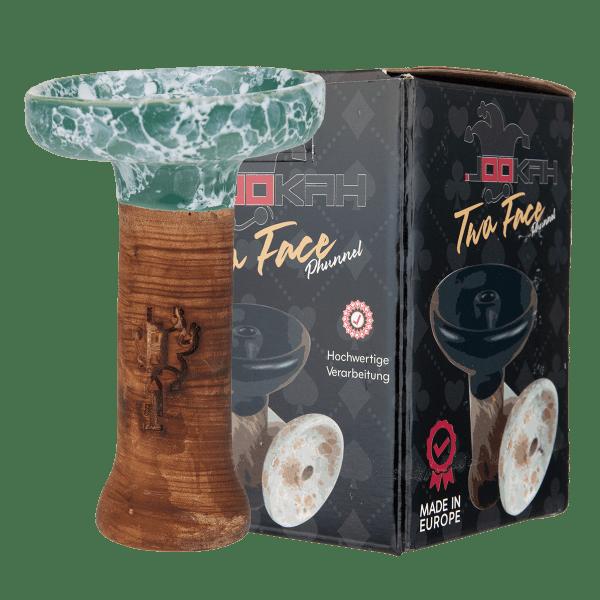Jookah Twa Face Phunnel L - Turquoise