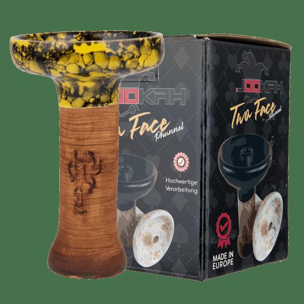 Jookah Twa Face Phunnel L - Yellow