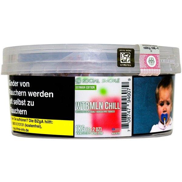 Social Smoke Tobacco 1kg - WTRMLN CHILL
