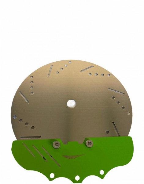 Alligator - Kohleteller Bremsscheibe Grün